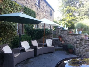 Courtyard at Park House, Worsbrough, South Yorkshire S70 5LW  - Residential Home