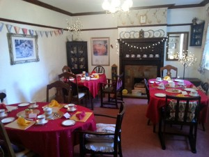 Dining room at Park House, Worsbrough, South Yorkshire S70 5LW  - Residential Home