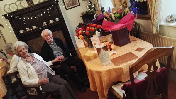Anniversary At Park House Worsbrough Residential Home